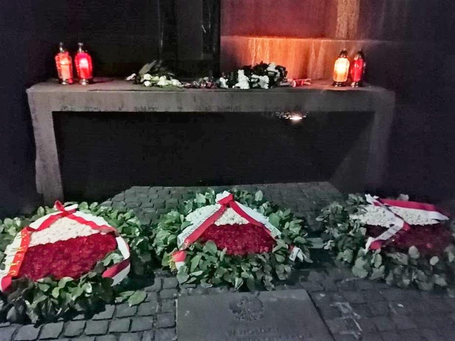 Uroczystości w Kijowie-Bykowni i w Charkowie-Piatichatkach